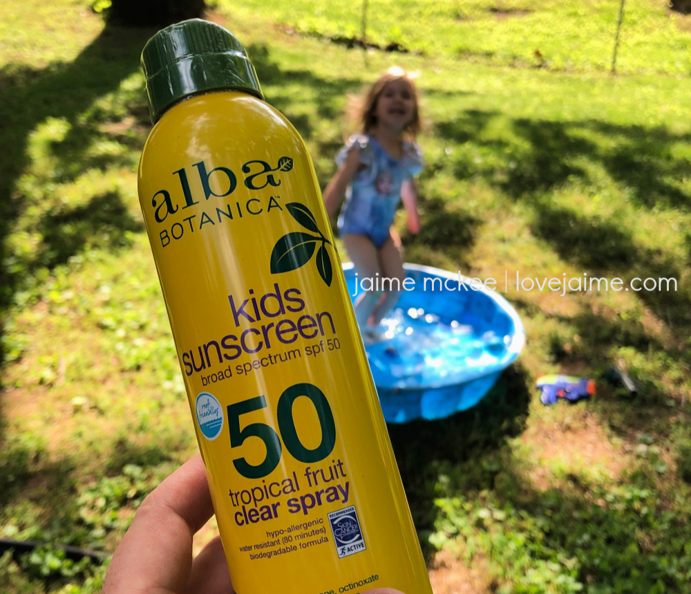 Alba Botanica - organic sunscreen that is safe for kids and the entire family!