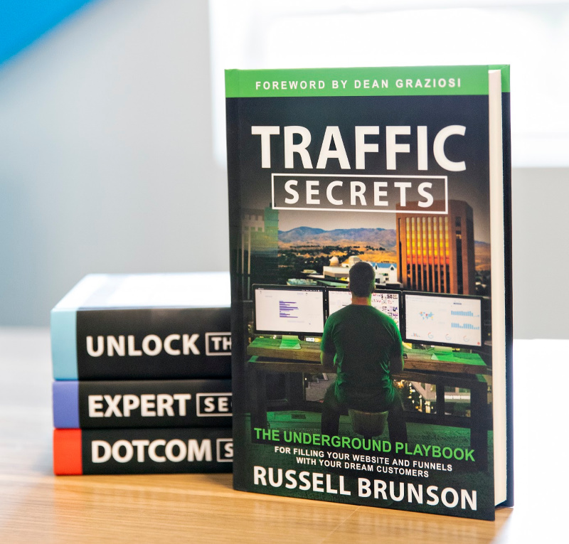 Secrets books by Russell Brunson