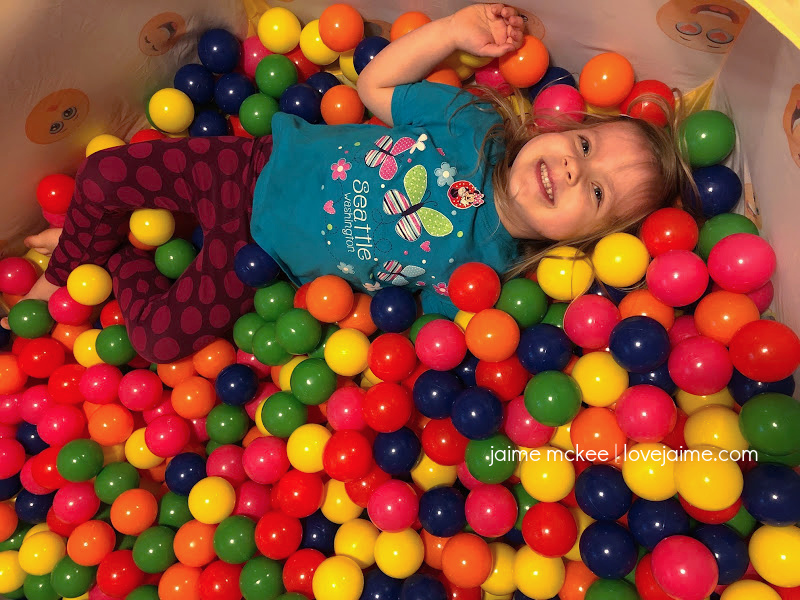 in-home ball pit