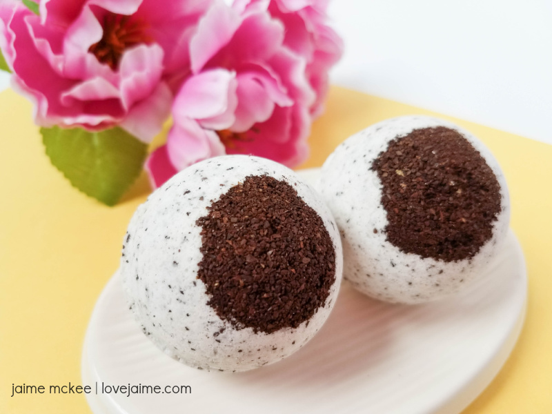 Hazelnut Coffee Bath Bombs