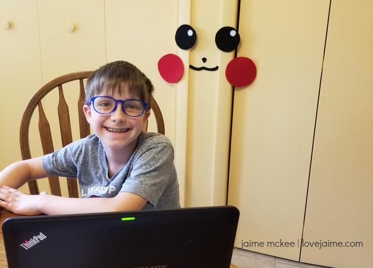 Blue light blocking glasses for kids!