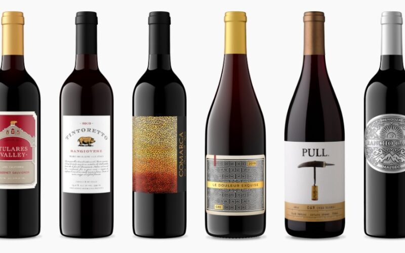 Get 6 bottles of wine for $39.95 – and free shipping!