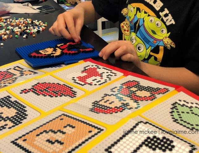 Super Mario Bros. Perler Beads set