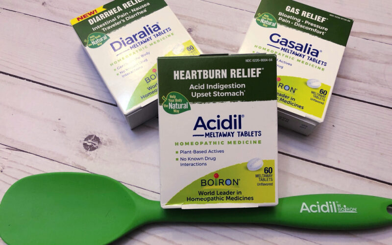 Homeopathic relief to help your body in a natural way