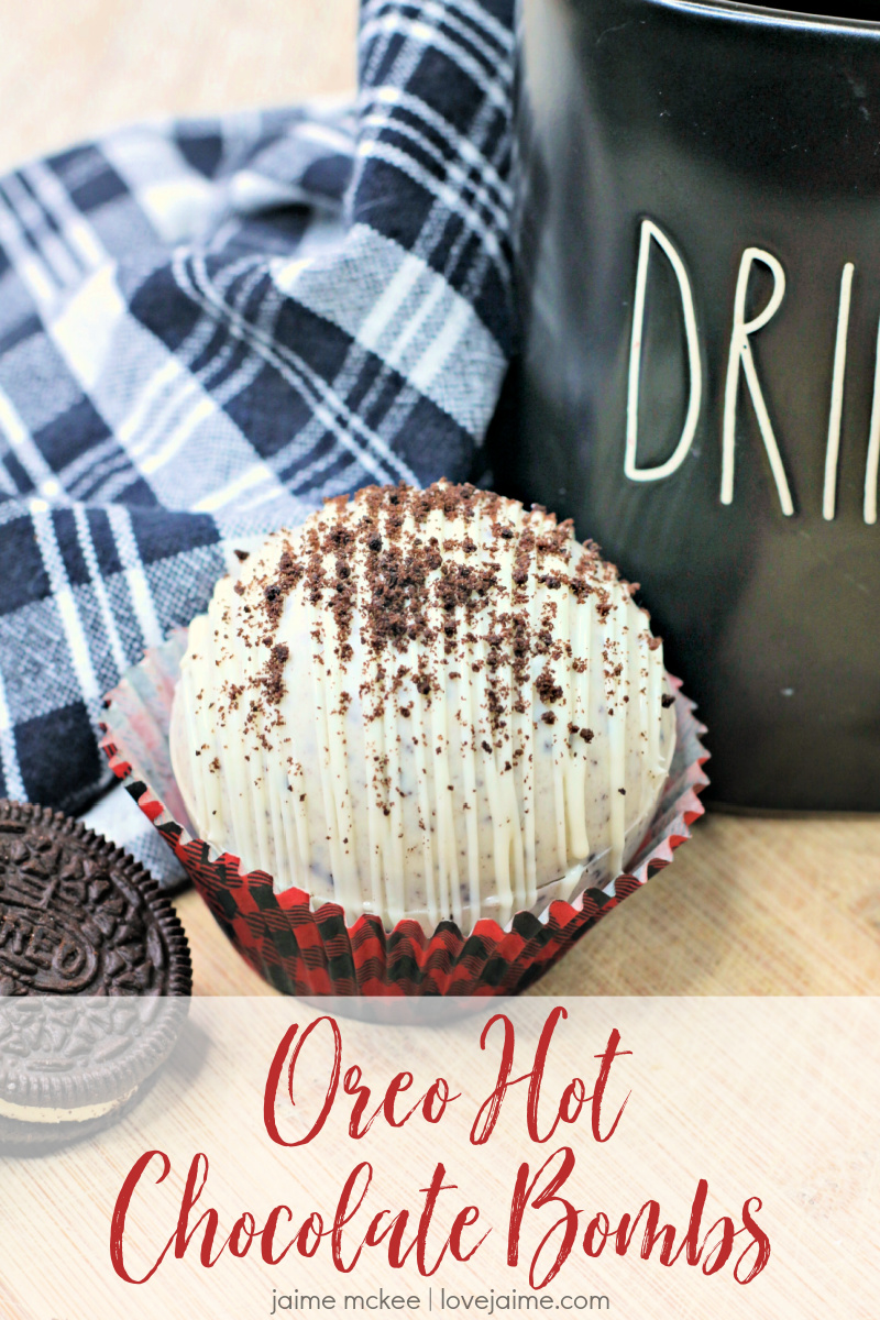 With a little bit of time, and the right ingredients, you can make these Oreo Hot Chocolate bombs to enjoy year-round. My kids love them and they're so fun to use!