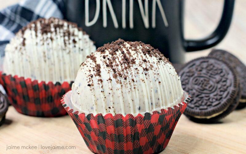 Oreo Hot Chocolate Bomb Recipe