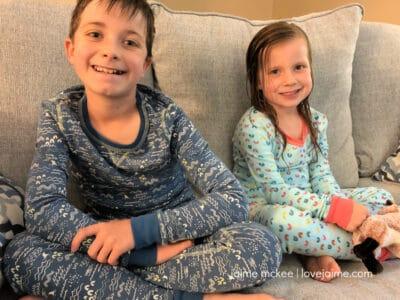 Pact Organic Pajamas - coordinating pajamas for kids!