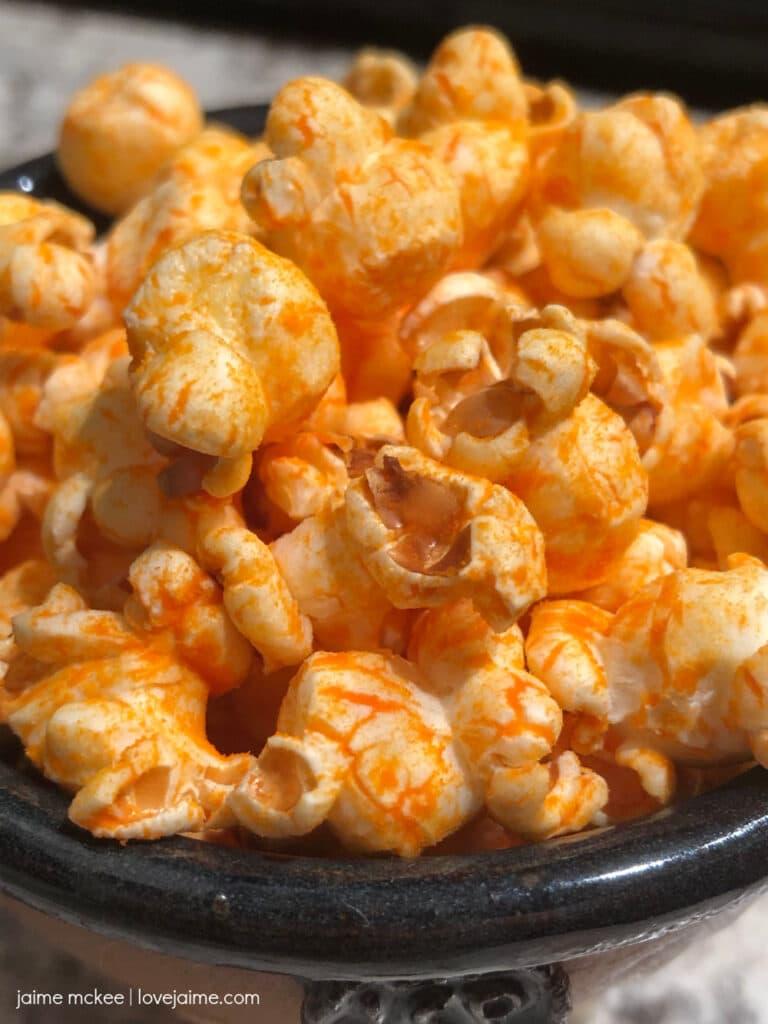 Cheddar Monster Pop popcorn